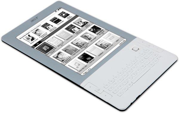 Acer LumiRead, el lector de ebooks de Acer se presentará en IFA 2010