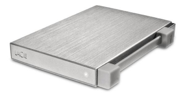 LaCie Rikiki Go, un disco duro portátil y metálico