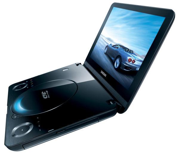 Samsung BD-C8000, reproductor Blu-ray portátil y 3D…