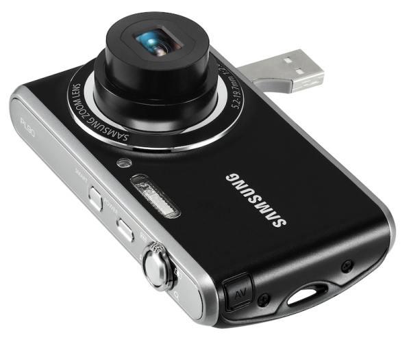 Samsung PL90, una cámara digital con conector USB integrado
