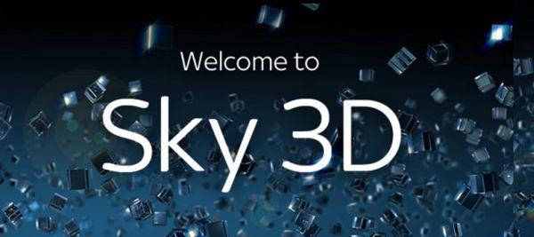 Sky 3D, el primer canal 3D de Europa, en los hogares de Reino Unido e Irlanda desde octubre