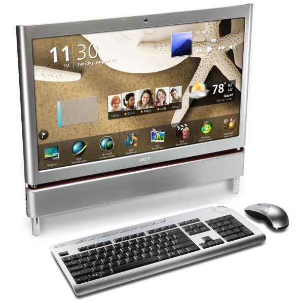 Acer Aspire Z5700, un PC táctil todo en uno para el entretenimiento