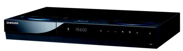 Sintonizador TDT HD Samsung BD-C8500, un equipo muy completo con disco duro y Blu-ray