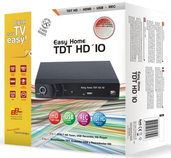 Best Buy Easy Home Tdt Hd 10 Graba Tdt Hd Y Lee V 237 Deos En