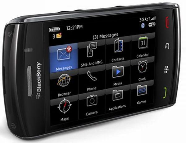 BlackBerry Storm 3, primeras imágenes del nuevo móvil táctil de RIM