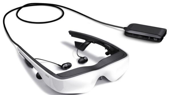 3D TV, Gafas Cinemizer Plus, video 3D sin necesidad de televisor