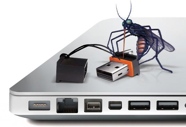 LaCie MosKeyto, una memoria USB tamaño mosquito