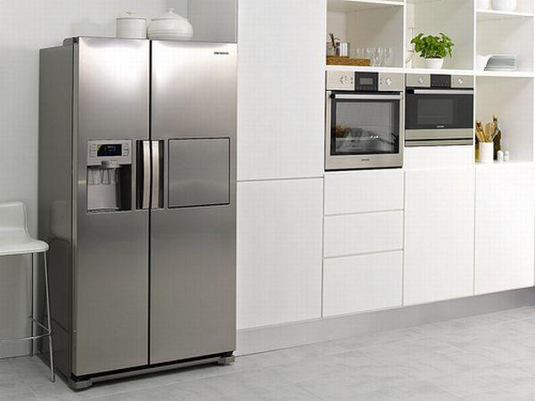 Samsung clase H, frigoríficos Side-by-Side espaciosos con dispensador de bebidas frías