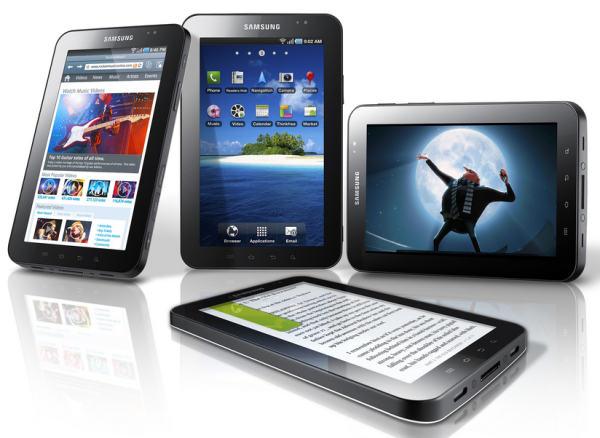 Samsung Galaxy Tab, un tablet de diez pulgadas de Samsung para 2011