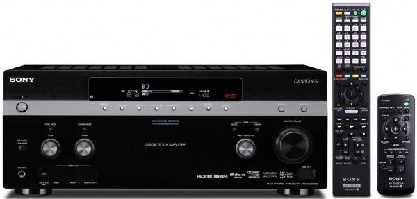 Sony STR-DA5600ES, receptor A/V compatible con 3D y con cuatro puertos Ethernet
