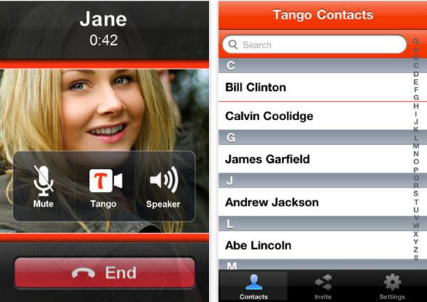 Tango-videollamadas