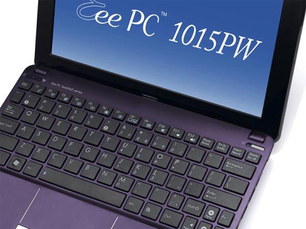 Asus 1015PW, un netbook que apuesta por el diseño