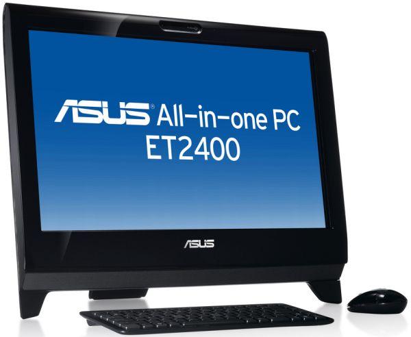 Asus ET2400INT, ordenadores de sobremesa todo en uno con procesadores Intel