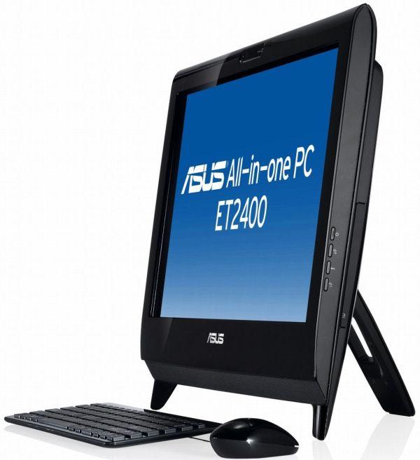 Asus ET2400XVT, ordenador de sobremesa todo en uno con tecnología 3D Full HD