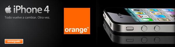 iPhone 4 Orange, la conexión de datos del iPhone 4 se puede compartir con un PC