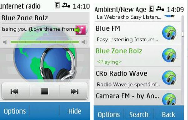 Nokia Internet Radio para Symbian S40, aplicación para escuchar la radio por Internet