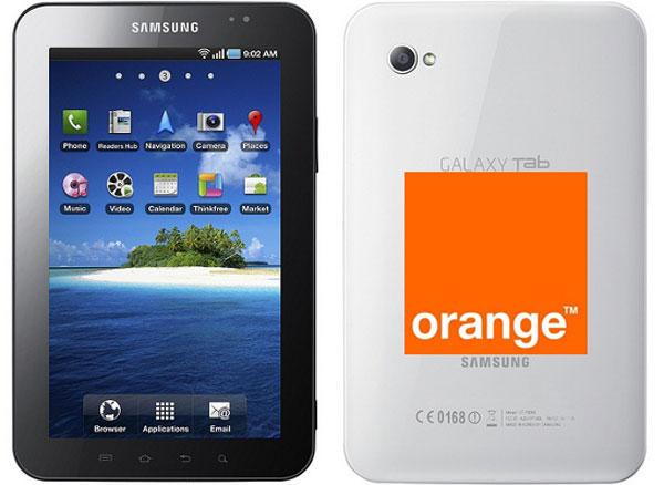 Samsung Galaxy Tab con Orange, la tableta de Samsung en el programa de puntos Orange