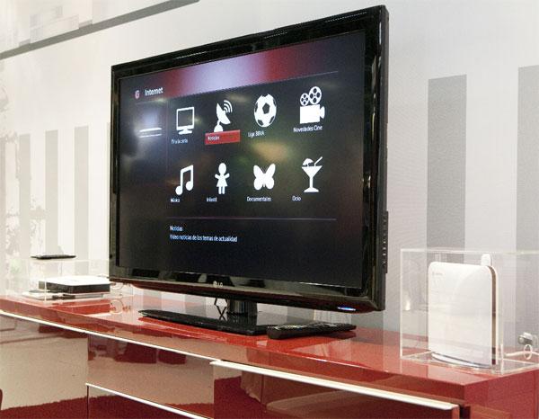 Vodafone Internet TV, TDT, TV a través de Internet y servicios adicionales