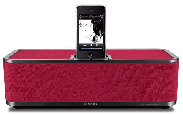 Yamaha PDX-31, altavoces para iPod y iPhone a todo color
