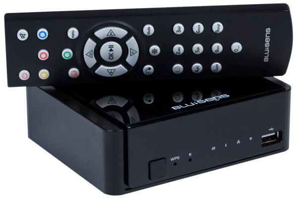 Blusens web:tv, reproductor multimedia con Internet TV