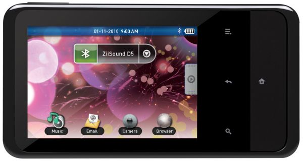 Creative Zen Touch 2, reproductor multimedia portátil en versiones con y sin GPS