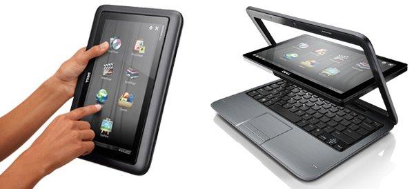 Dell Inspiron Duo, entre el tablet y el portátil