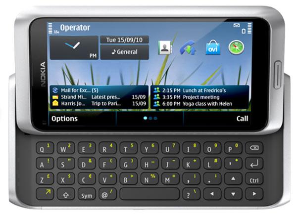 Nokia E7, este móvil de Nokia se comienza a vender en Diciembre