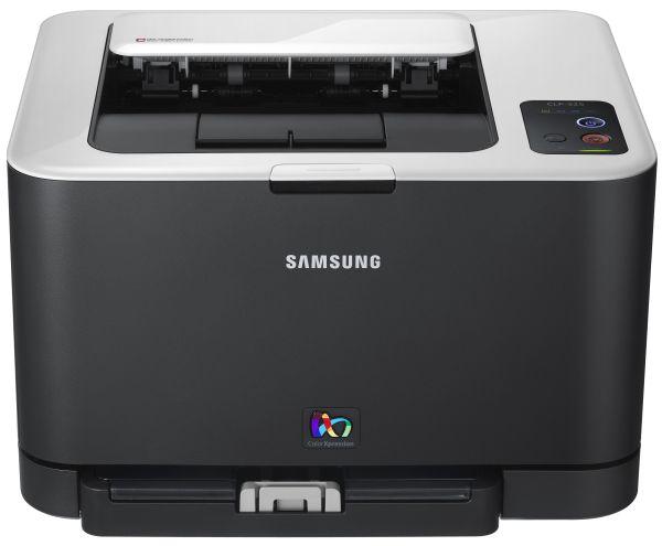 samsung clp 325 impresora l ser en color f cil de instalar y de utilizar. Black Bedroom Furniture Sets. Home Design Ideas