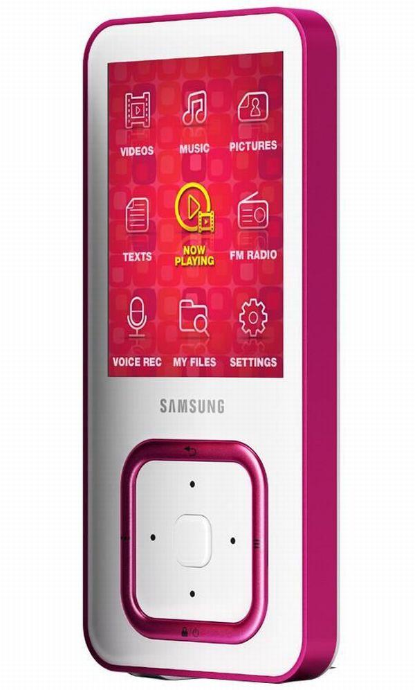 Samsung Q3, lector MP4 con teclado táctil