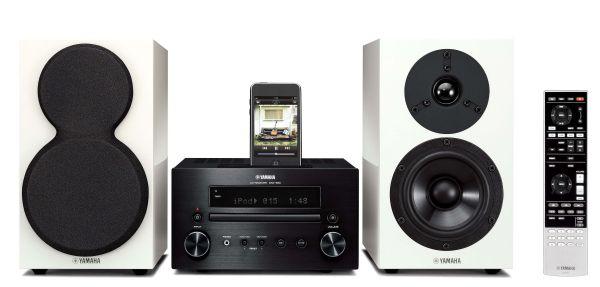 Yamaha MCR-550, una minicadena que lleva calidad de sonido a espacios reducidos