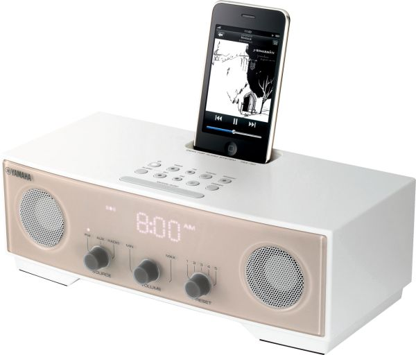 Yamaha TSX-80, base de diseño para iPod con despertador
