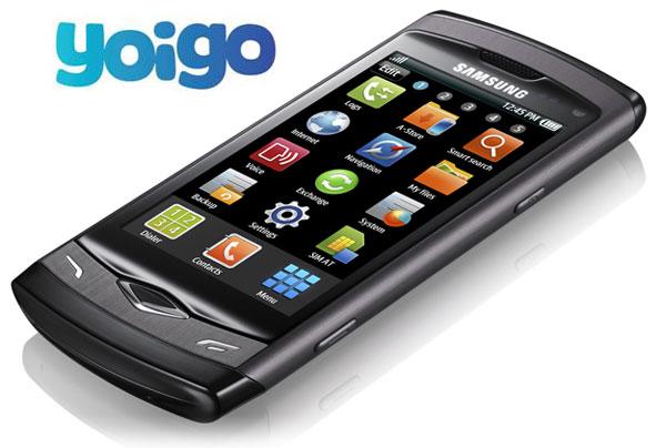 Samsung Wave S8500 con Yoigo, precios y tarifas de Samsung Wave S8500 con Yoigo