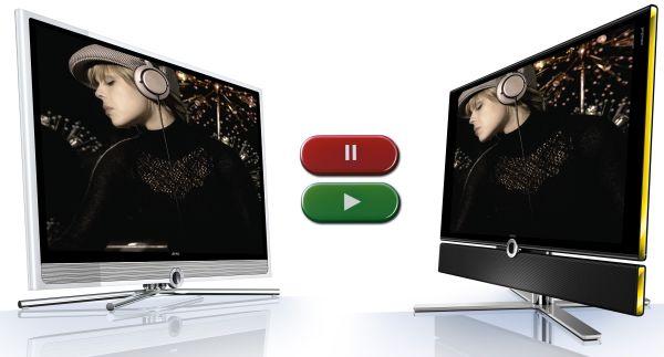 Loewe DR+Streaming, los televisores de Loewe se envían contenidos