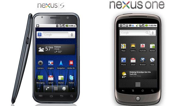 Nexus One frente a Nexus S, diferencias entre los dos móviles de Google