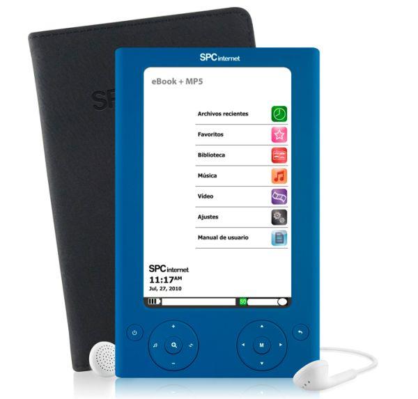 SPCinternet 5505 y SPCinternet 5504, e-readers y reproductores multimedia portátiles