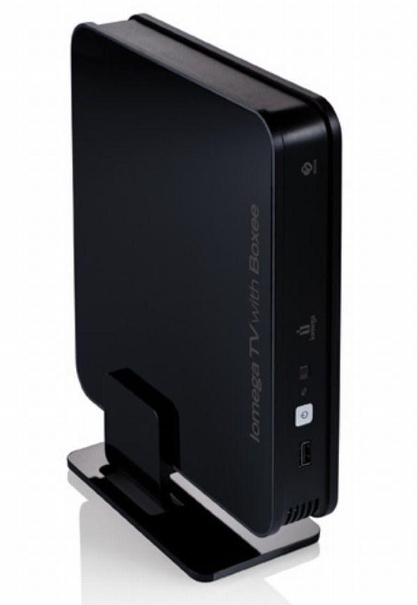 Iomega TV con Boxee, nueva línea de servidores multimedia con software web