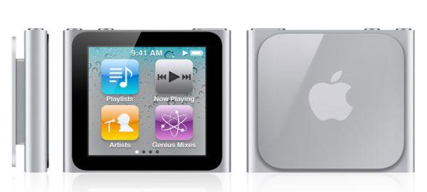iPod Nano 6G, más que un rediseño es un producto nuevo