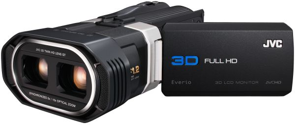 JVC GS-TD1, videocámara que graba 3D Full HD real