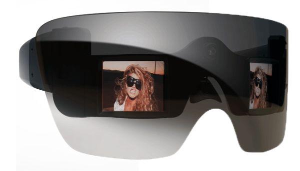 Lady Gaga y Polaroid, gafas con cámara Polaroid Grey Label GL20