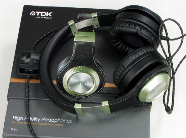 TDK ST-800, auriculares con control de graves y de agudos