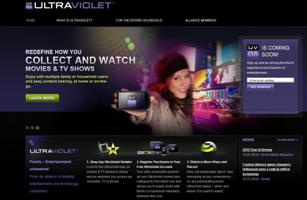 UltraViolet, Hollywood abandona el DVD y se apunta a la distribución en línea