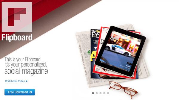 Flipboard para iPad, cómo tener una revista digital personalizada en el iPad