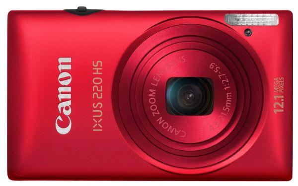 Canon IXUS 220 HS compacta elegante y clásica, con prestaciones avanzadas