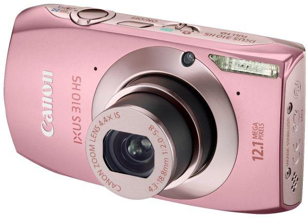 Canon IXUS 310 HS, cámara compacta con pantalla táctil y controles manuales