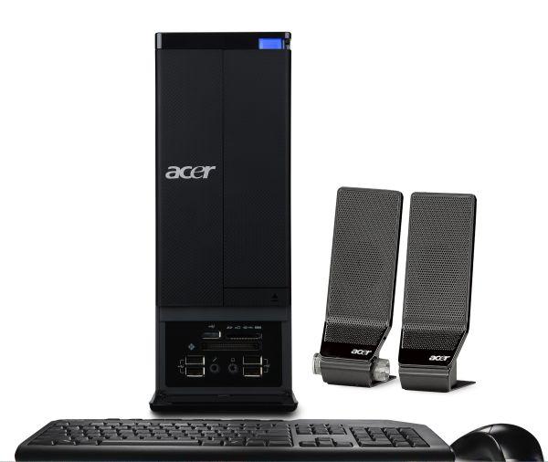 Acer Aspire X3960, un pequeño ordenador de sobremesa doctorado en entretenimiento