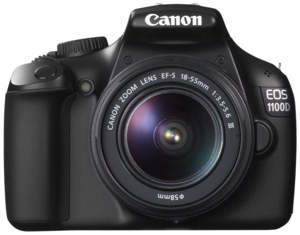 Canon EOS 1100D, cámara réflex digital de 12 megapíxeles
