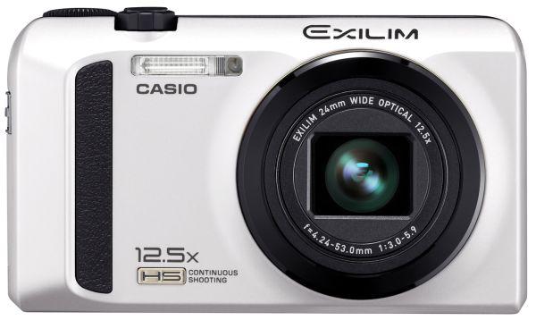 Casio Exilim EX-ZR100, cámara compacta con zoom óptico de 12,5x