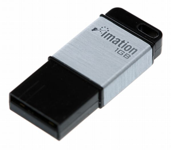 Imation Atom, llaves de memoria USB ultracompactas