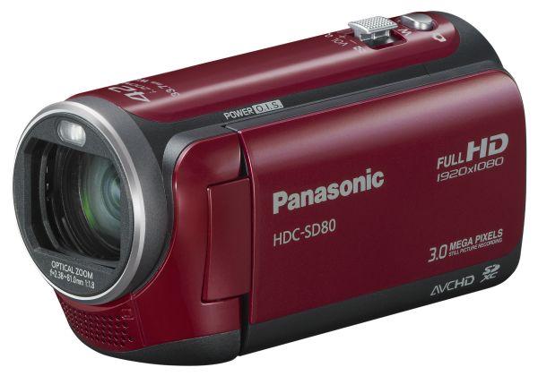 Panasonic HDC-SD80, videocámara de alta definición con tarjeta SD