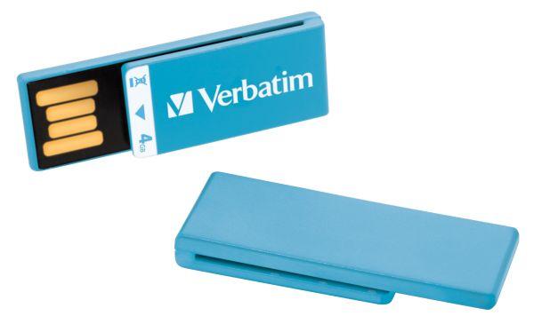 Verbatim Clip-it USB, memorias USB ganadoras de un premio de diseño